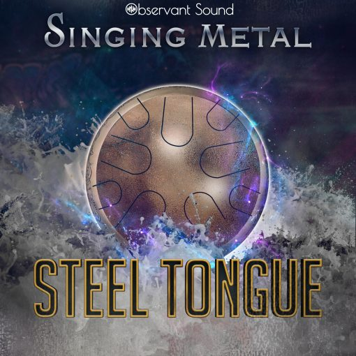 steel tongue sample library cover image
